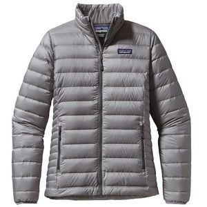 Patagonia Down Sweater Jacket Grey size small